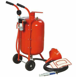 38 L/10 Gallon Pot Bead Shot Portable Sandblaster Cleaning