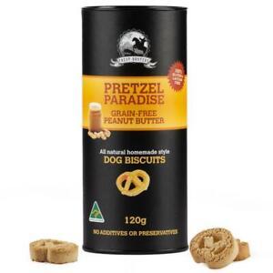 Grain-free-Peanut-Butter-120g-Pretzel-Shaped-Dog-Biscuit