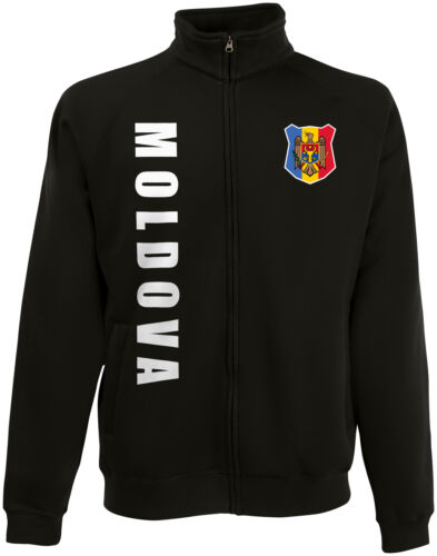 Moldavia impusiera WM 2018 Sweat chaqueta camiseta número nombre