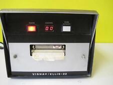 Vishay Measurement Ellis 22 Printer Used 30 Day Guarantee Lab Equipment