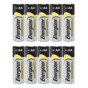 100 Energizer Industrial AA Alkaline Battery 1.5V MN1500 LR6 MIGNON STILO
