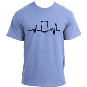 Heartbeat-Beer-T-Shirt-I-Drinking-Beer-Pub-Bar-Party-T-shirt-I-Beer-Lover-TShirt