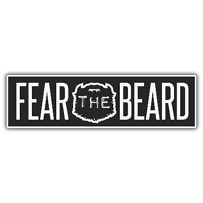 TEAM BEARD sticker by mr oilcan 185 x 30mm