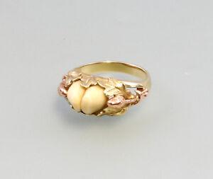 8325279 Bicolor-grandel-ring 585er Gold Gr.54