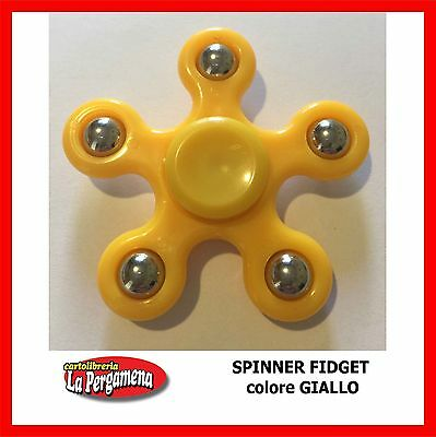 METAL Fidget Spinner DITO MANO FOCUS SPIN stress alleviare GIOCATTOLI