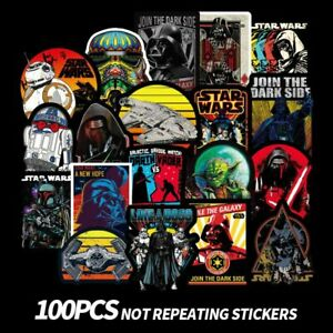 Cool Graffiti Bomb Sticker for Laptop Water Car 100PCS Stickers for Star Wars