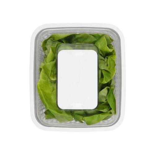 Obst länger frisch OXO Greensaver Frischhaltebox Aktivkohlefilter hält Gemüse