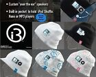 NEW i360 Sound Beanie Ipod Mp3 Hat On-ear Headphones Ski Snowboard Workout