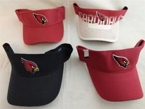 5b680d17dd9 New Arizona Cardinals Mens OSFA Reebok Red White Black Golf Visor ...