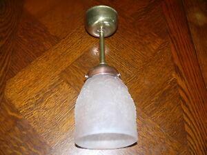 Rarität Original   Jugendstil Lampe  Deckenlampe Jugendstillampe ca. 1910