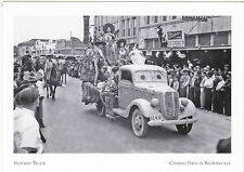 """*POSTCARD-""""Flocked Truck for The Parade""""-Charro Days @ Brownsville, Texas (#15)"""