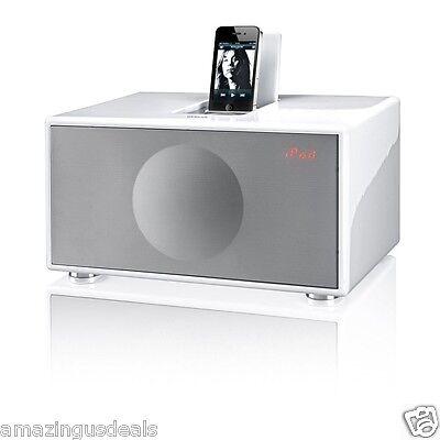 Geneva Sound System Model M All-in-One Stereo (White) - Medium
