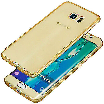 Shockproof 360° Protective Silicone Phones Clear Case Cover For Samsung Galaxy