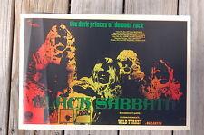 Black sabbath Tour Poster 1971 Wild Turkey Nazareth