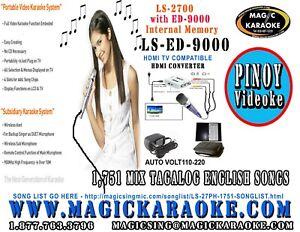 Magic-Sing-LS-9000-Videoke-1751-Mix-Tagalog-English-Songs-HDTV-COMPATIBLE