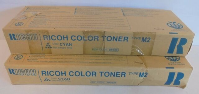 RICOH M2 2X Cyan Toners  c  für Aficio 1224c 1232c 885324