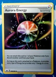 x4 Pokemon TCG Aurora Energy 186//202 Non-Holo Uncommon N//NM Playset