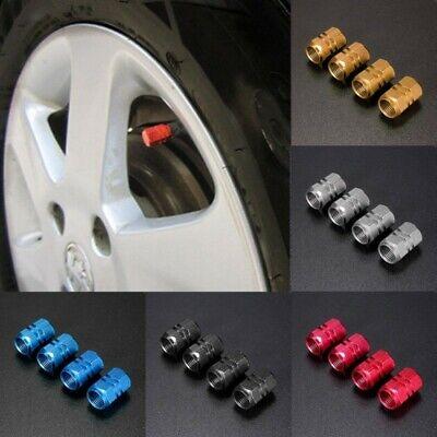 Juego de 4 tapones para v/álvula de neum/ático de coche Renault color negro y plateado