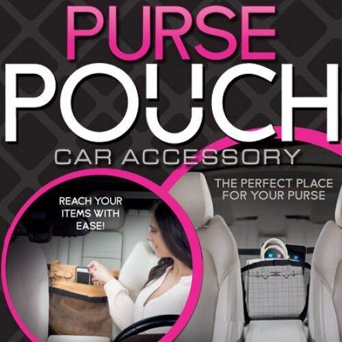 Multi Pocket Net Mesh Pocket Hanging Boot Car Seat Tidy Storage Organiser Black