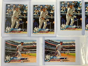 2018-Topps-Update-Gleyber-Torres-RC-Inserts-Refractor-2019-Chrome-Lot-of-18