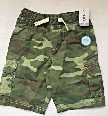 Carter/'s Brand Boy/'s Cargo Shorts-NAVY BLUE-5-NWT