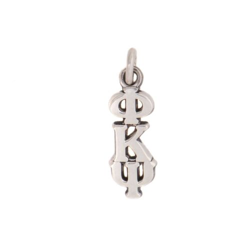 Phi Kappa Psi Fraternity Lavalier With Chain Sterling Silver