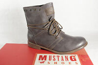Mustang Ankle Boots Lace Up Boots Boots Grey 1134