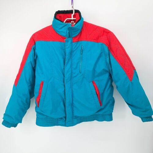 Vtg 80/'s GM Member/'s Only Style Red Jacket General Motors Auto Red Member/'s Only Jacket