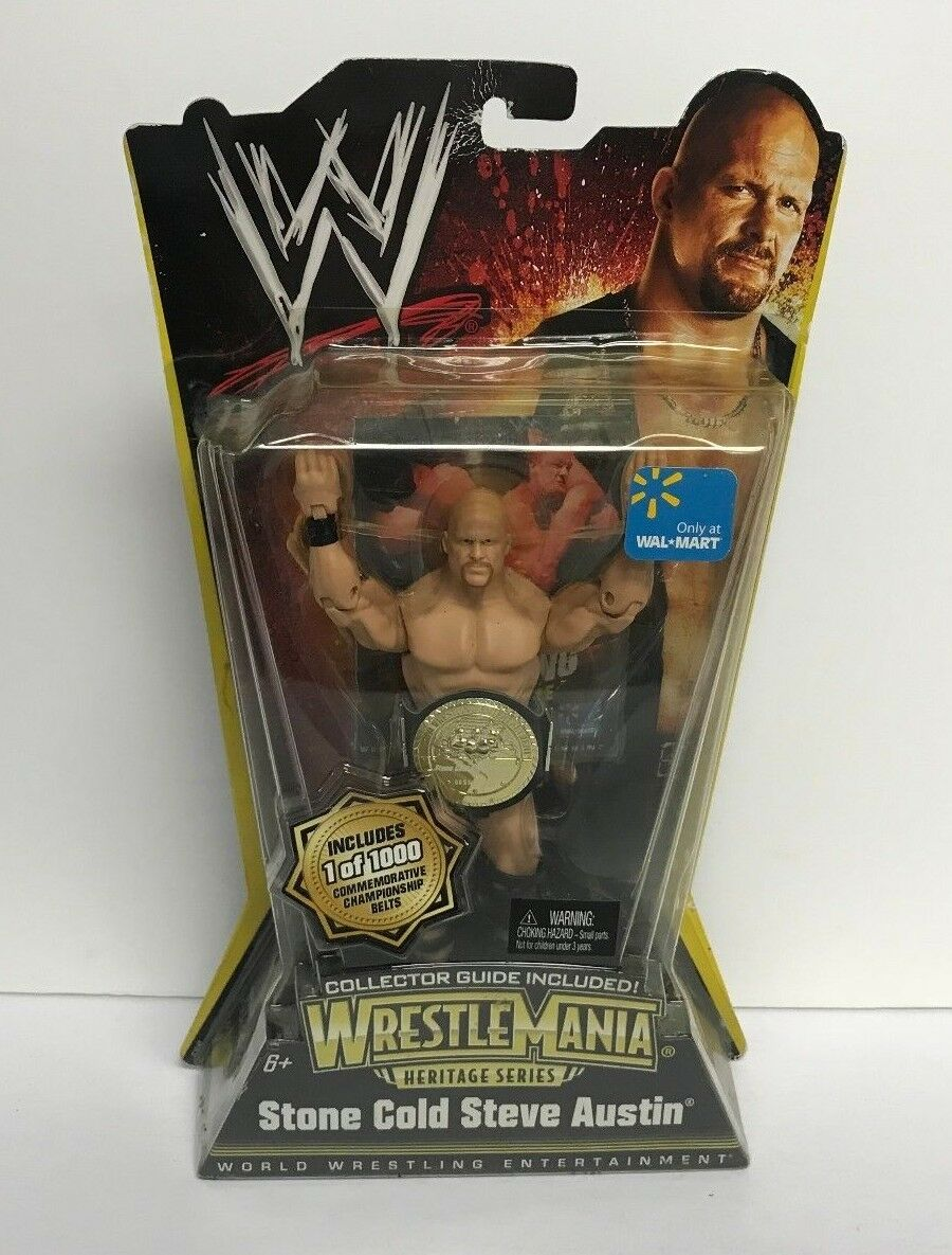 Stone Cold Steve Austin WWE Wrestlemania (X-7) Heritage Series 1 of 1000 Limited