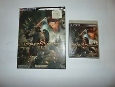 PS3 DRAGON'S DOGMA + STRATEGY GUIDE PLAYSTATION 3