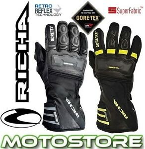RICHA-COLD-PROTECT-GTX-GORETEX-THERMAL-WINTER-MOTORCYCLE-WATERPROOF-GLOVES