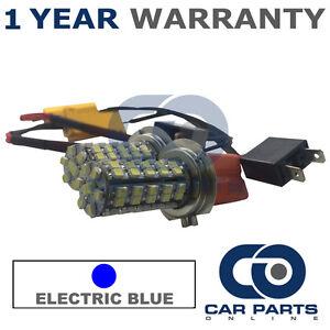 2x-CANBUS-Azul-H7-60SMD-LED-Bombillas-De-Haz-Principal-Para-Mercedes-A-B-C