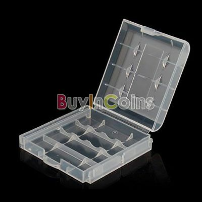 Plastic Case Holder Storage Box For AA AAA Rechargeable Battery