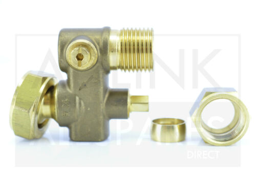 VAILLANT TURBO MAX VUW 242//2 282//2 RANGE BOILER COLD WATER INLET VALVE 014714
