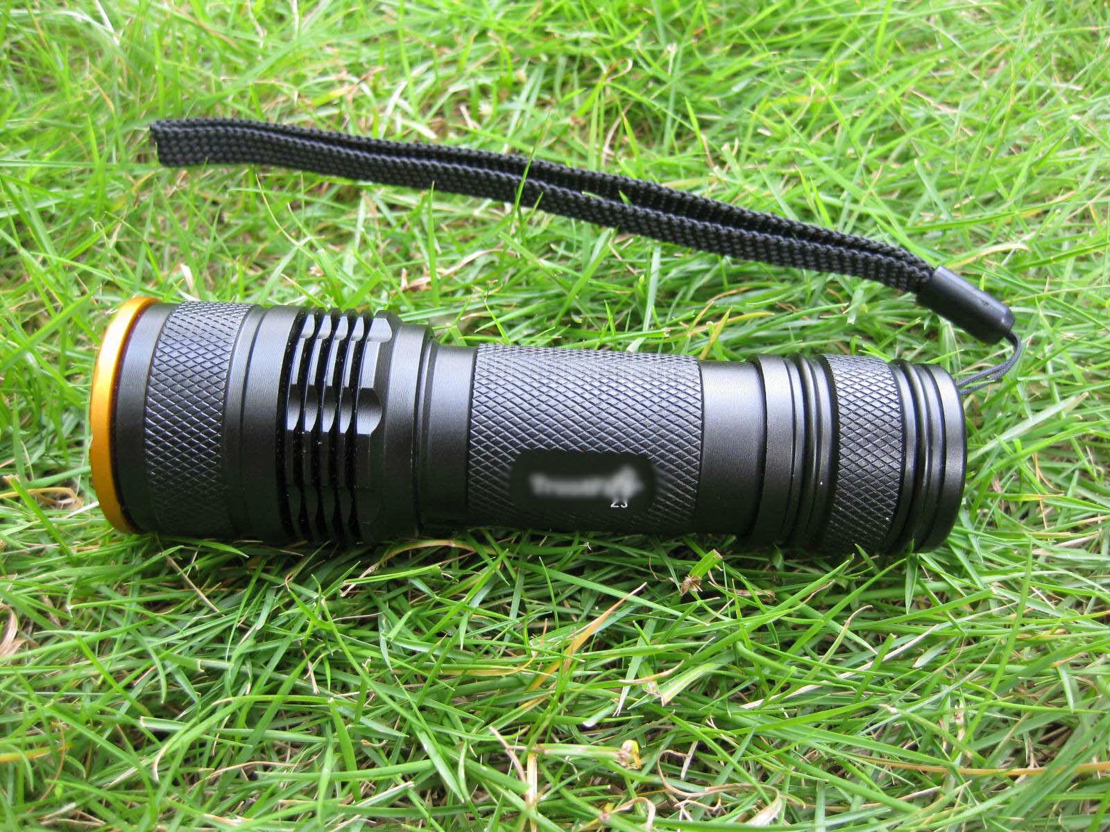 Mastiff Z3 Zoomable 3Watt 365 nm Ultra-purple Radys LED  UV Lamp Flashlight Torch  convenient