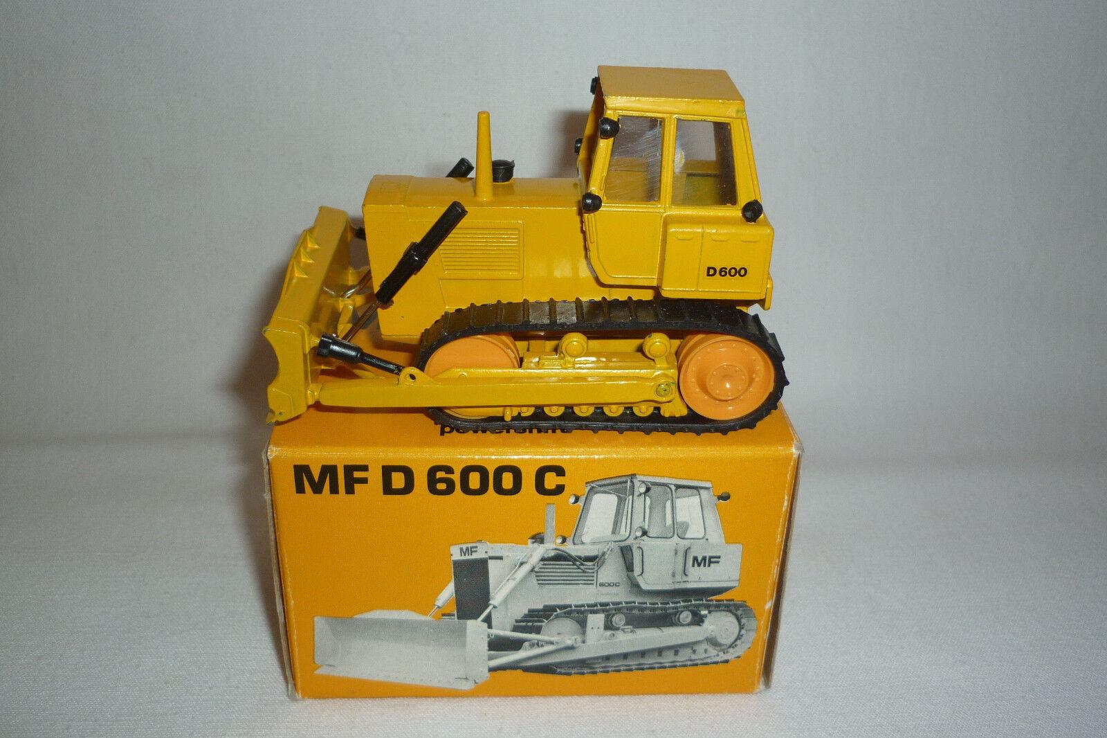 Cursor - Miniatura de Metal - Hanomag D 600 C  Motoniveladora Emb.orig  1 50 -