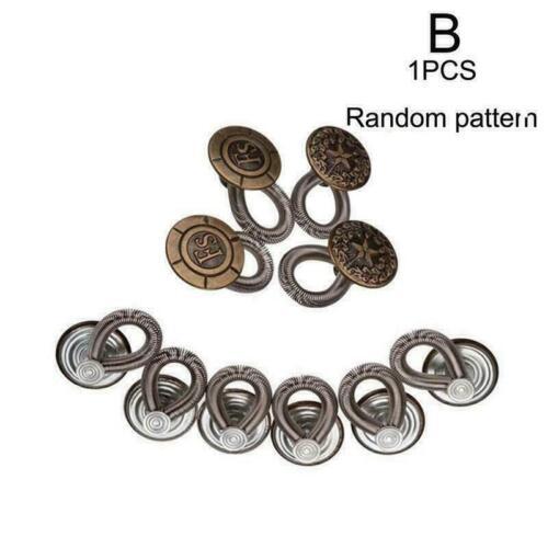 Pantaloni Jeans LISCIO 2cm Instant Fix EXPANDER ESTENSORE girovita in metallo F4M5 O1E2