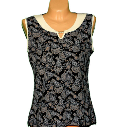 Damen Bluse Sommer Ärmellos Oberteil Shirts  Farbwahl