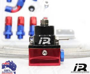 1x iPR Fuel Pressure Regulator 1200HP FORD F6 GT-P GT TYPHOON XR6 XR8 GE6 BLACK