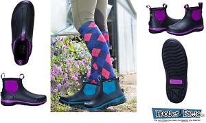 botas Impermeables de lodos noble Outfitters Wohombres Stay Cool 6  púrpura negroberry