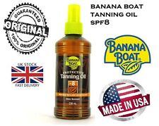 BANANA BOAT PROTECTIVE  TANNING OIL SPRAY SPF 8 UK SELLER