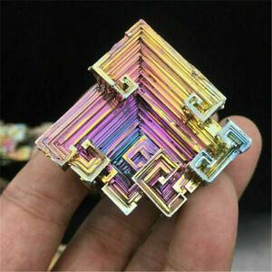 Hot Rare Rainbow Titanium Bismuth Specimen Mineral Gemstone Crystal Mineral Rock