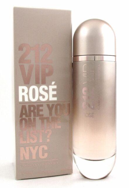 cfee9ae90f 212 VIP ROSE by Carolina Herrera Perfume 4.2 oz. EDP Spray Women New  Damaged Box