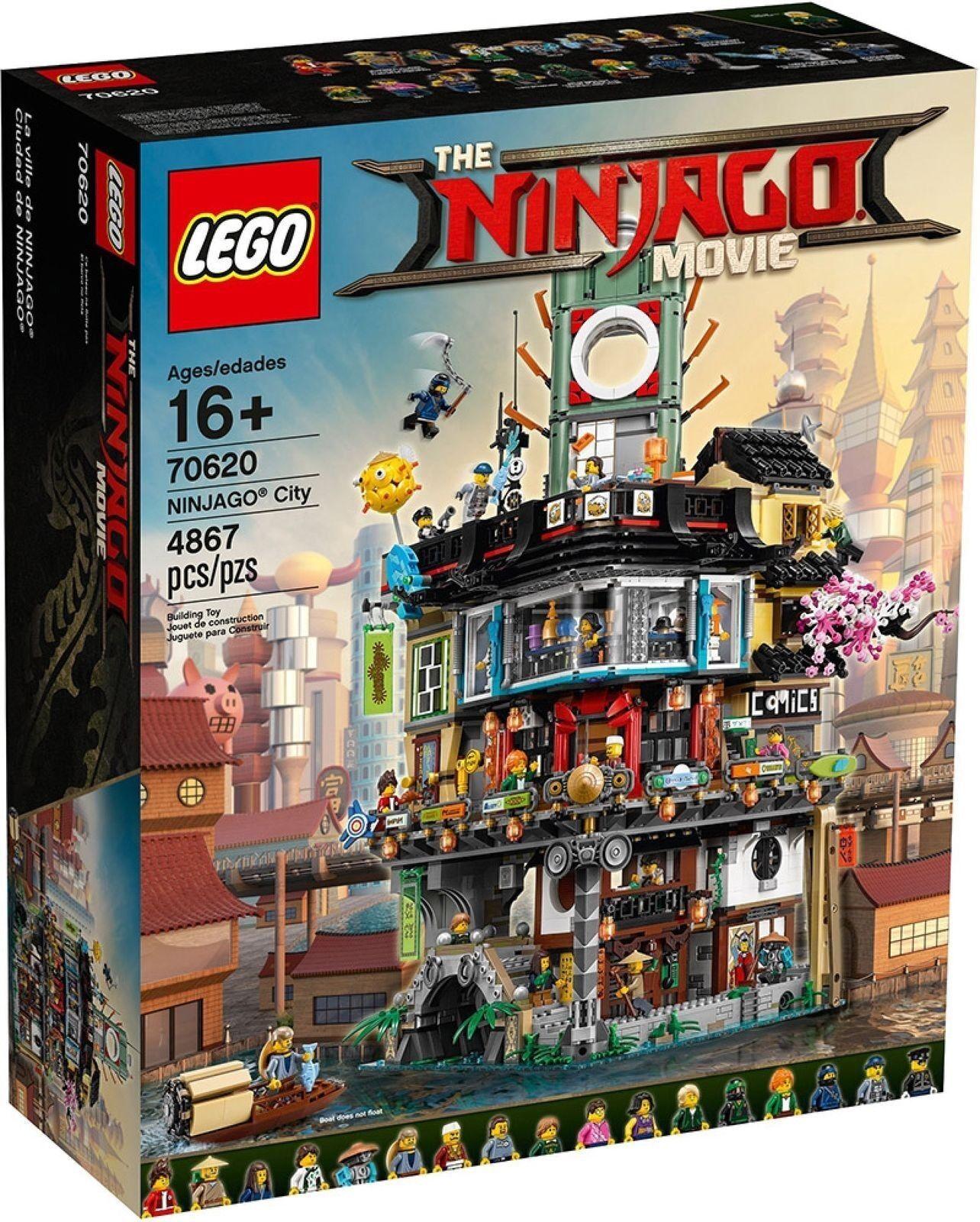 LEGO NINJAGO MOVIE NINJAGO CITY - LEGO 70620