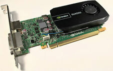 HP NVIDIA Quadro 600 WS093AA 1GB GDDR3 PCI-e x16 DVI & DisplayPort Graphics Card