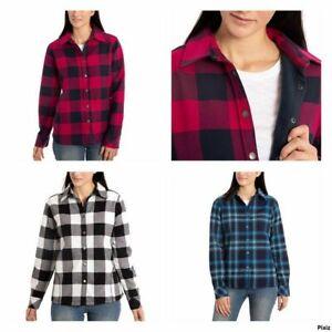 Orvis-Ladies-039-Flannel-Shirt-Jacket