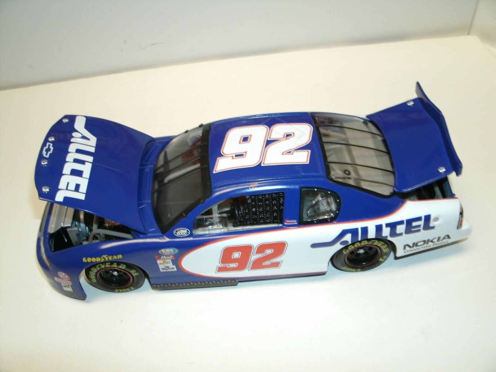92 Jimmie Johnson 2000 Rookie Alltel Racing 1 24 Action Diecast très rare