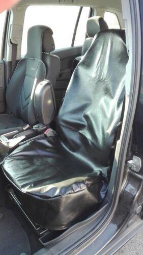 Werkstattschoner Kunstleder Sitzbezug Schwarz für Audi Citroen Fiat Ford Suzuki