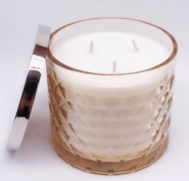 Peach Bellini Large 3-Wick Candle 14.5 oz 1 Bath /& Body Works CONGRATS