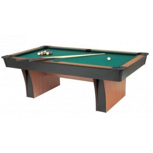 Biliardo Pool Alexandra 6 con accessori Garlando Piano gioco in Ardesia
